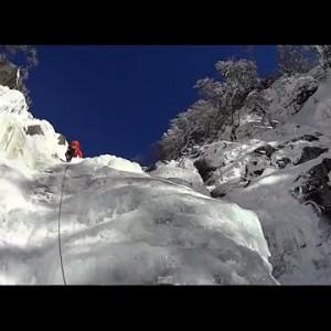 人生ほぼ初雪山 赤岳鉱泉。ジョウゴ沢入渓 クライミングとロープワーク
